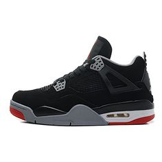 "cheap for discount c4357 3b99b Buy Air Jordan 4 Retro ""Bred"" Black Cement Grey-Fire Red For Sale Online  from Reliable Air Jordan 4 Retro ""Bred"" Black Cement Grey-Fire Red For Sale  Online ..."