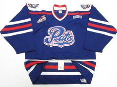 """"""" Now all the Pats need to do is go back to the royal blue and bring back this jersey. The moment they do that, I'll be in line so they can take my money for Bedard jersey. Take My Money, Ice Hockey, Royal Blue, Dan, Bring It On, In This Moment, Twitter, Jackets, Tops"""