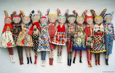 Selvage Blog: Dolls by Sarah Campbell