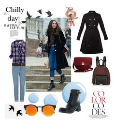 """chilly day"" by beanpod ❤ liked on Polyvore featuring Rails, STELLA McCARTNEY, Ted Baker, Topshop, Refresh, River Island, The Code, Jayson Home, Napier and LULUS"