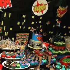Super Hero Party #SuperHero #boysbirthday #