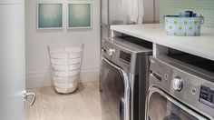 Make the most of the space in your laundry room with these tips.