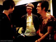 i have been staring at this gif for so long...i have to pin it. oh, brendon urie, how i <3 thee :)