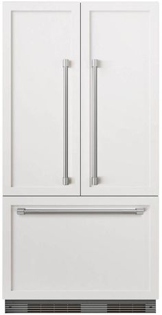 DCS RS36A72JC1 36 Inch Built In French Door Refrigerator With 16.8 Cu. Ft