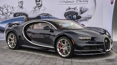 Bugatti Chiron shows off new blue-tinted carbon fiber skin at the Quail…