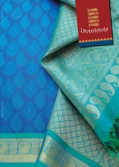 Mango and tree motifs in mesmerising blue. A stunning green pallu with elephant and mango motifs. It is summertime!!!!#Utppalakshi #Sareeoftheday#Silksaree#Kancheevaramsilksaree#Kanchipuramsilks #Ethinc#Indian #traditional #dress#wedding #silk #saree#craftsmanship #weaving#Chennai #boutique #vibrant#exquisit #pure #weddingsaree#sareedesign #colorful #elite