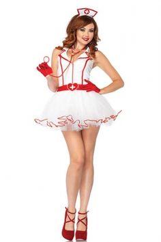 看護婦 | ナース | コスチューム | コスプレ | 4点セットyy1475 - コスプレ衣装通販|コスチューム販売|「コスクール」@ローズヒップ