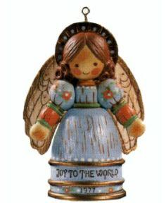 1977 Joy to the World Hallmark Keepsake Ornament