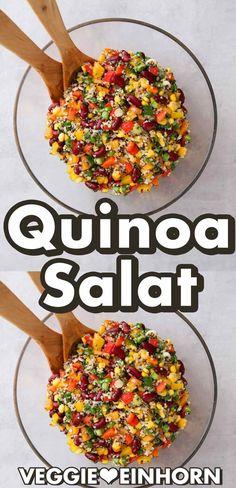 Vegetarian Quinoa Salad, Mexican Quinoa Salad, Vegetarian Recipes, Healthy Recipes, Healthy Salads, Avocado Salads, Healthy Lunches, Healthy Foods, Food Preparation