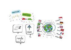 Visual Thinking_Mira telecomunicaciones_AENA_Formula1_Renfe