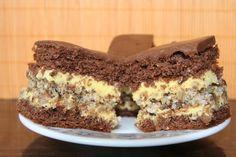 "Desert prajitura ""Furtuna in desert"" - Galerie foto Romanian Desserts, Romanian Food, Food Cakes, Cupcake Cakes, Cupcakes, Sweets Recipes, Cookie Recipes, Hungarian Cake, Torte Cake"