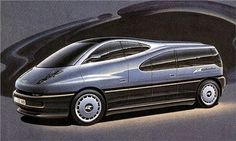 BMW Columbus (ItalDesign), 1992 - Design Sketch