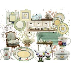 Villeroy U0026 Boch French Garden, My China, Created By Nancybabbs