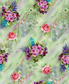 Vintage Flowers Wallpaper, Flower Phone Wallpaper, Cool Wallpaper, Fabric Print Design, Small Flowers, Beautiful Flowers, Vintage Paper, Abstract Backgrounds, Flower Designs