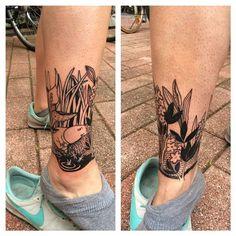 Parempi kuva kokonaisuudesta #moomin #muumit #moomintattoo #tattoo #tattoos #tatuointi #sarppatekeetatskoi #helsinki