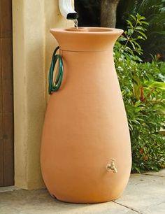 Nada mejor que esto para recolectar las aguas lluvias y reutilizarlas para regar