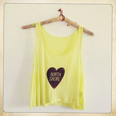 Neon Crop Top by RoamHawaii