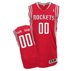 595604b77 Rockets Red Personalized NBA Jersey Houston Rockets