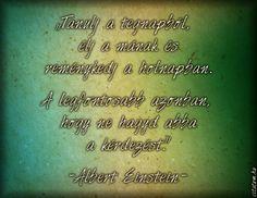 Albert Einstein #idézet