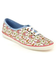"Keds ""Champion Floral"" Fabric Sneaker"