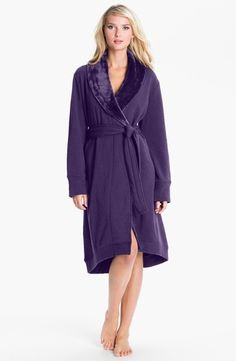 UGG Australia Double Knit Robe Purple Violet Small from Nordstrom on shop.CatalogSpree.com, your personal digital mall.