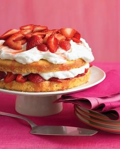 "See the ""Strawberry Cream Cake"" in our Cake Recipes with Fruit gallery"
