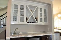 Aguora Custom White Kitchen Cabinets