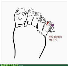 Furniture! Y u no hit other toe?