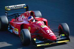 Jean Alesi - Ferrari F412T1B - 1994 Italian GP - Monza