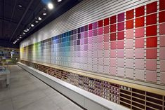 View the full picture gallery of Nirlat Colors Showroom Design Studio Office, Office Interior Design, Home Office Decor, Office Interiors, Display Design, Store Design, Counter Design, Showroom Design, Paint Shop