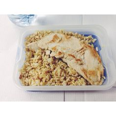 #lunch #almoço #chickenbreast #wholewheatrice #mealpreap