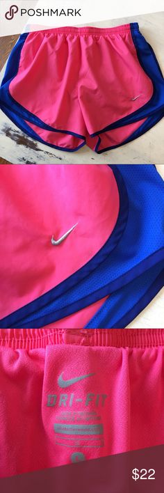 Nike DRI-FIT Size L Running Shorts! Nike DRI-FIT Size L Running Shorts! Great, preowned condition! Bundle with my other listings and save! Nike Shorts