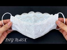 New Style Beautiful 3D Mask! Diy Face Mask 3Layers No Fog On Glasses Easy Pattern Sewing Tutorial | - YouTube Clear Face Mask, Easy Face Masks, Diy Face Mask, Easy Sewing Patterns, Pattern Sewing, Sewing Hacks, Sewing Tutorials, Mouth Mask Design, Crochet Mask