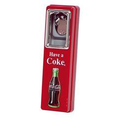 Coca-Cola �Bottle Opener with Cap Catcher