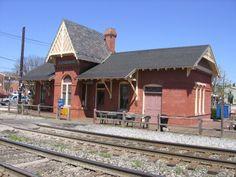Gaithersburg MD Railroad Station