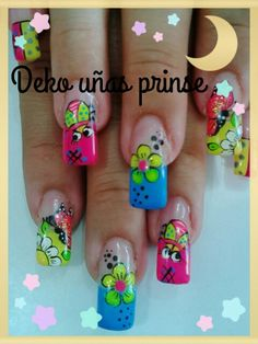 "See 413 photos and 47 tips from 5122 visitors to Pereira. ""Pereira is a cute and vibrant city. Fingernail Designs, Toe Nail Designs, Acrylic Nail Designs, Acrylic Nails, Super Cute Nails, Pretty Nails, Spring Nails, Summer Nails, Hard Nails"