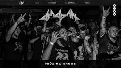 Força Metal BR: Deadpan: Banda apresenta seu novo web-site oficial...