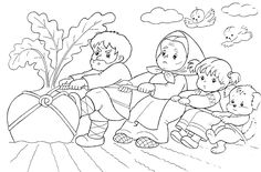 Репку тянут без улыбки - раскраска №382 Coloring Sheets, Coloring Books, Coloring Pages, Drawing For Kids, Line Drawing, Sequencing Pictures, Legends And Myths, Three Little Pigs, School Events