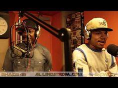 Chance The Rapper x Talib Kweli x Cory Mo Freestyle on Showoff Radio