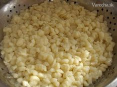 Gnocchi as a side dish - Recipe for every cook, many recipes for pe . - Gnocchi as a side dish – Recipe for every cook, many recipes for baking and cooking. Recipes for - Slovak Recipes, Czech Recipes, Baking Recipes, Snack Recipes, Healthy Recipes, Food N, Food And Drink, Haluski Recipe, Side Dish Recipes