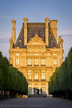 Photographic Print: Sunset over Musee Du Louvre and Jardin Des Tuileries, Paris France by Brian Jannsen : Paris France, France 3, Paris Travel, France Travel, Places Around The World, Around The Worlds, Tuileries Paris, Rue Saint Honoré, Louvre Paris