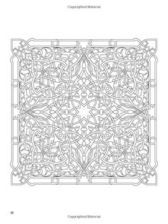 Arabic Floral Patterns Coloring Book: Nick Crossling, Coloring Books for Adults: 9780486478470: Books - Amazon.ca
