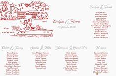 Cet article Tableau Mariage Illustration Annecy<br> + Nom de tables est apparu en premier sur L'Atelier d'Elsa Faire-part - faire-part de mariage et de naissance créé sur mesure, papeterie originale Jour J et carterie évènementielle.