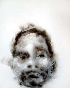 Alternative Drawings: Diane Victor - smoke drawing - she uses the smoke from candles to draw with Smoke Drawing, Smoke Painting, Painting & Drawing, Potrait Painting, Bokashi, South African Artists, Sacred Art, Artist Art, Figurative Art