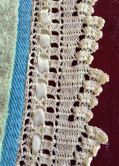 OFICINA DO BARRADO: Croche - Barrando com a linha RAYZA Baby