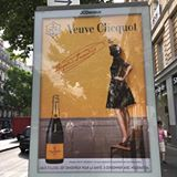 The widow seems to pursue me everywhere #champagne #veuve clicquot #bulles #boisson #moderation