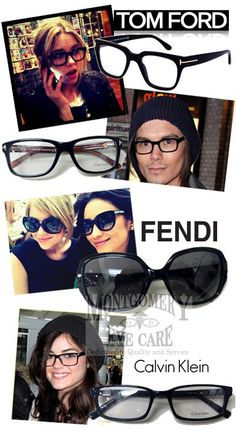And #PrettyLittleLiars fans here? While everyone is still learning who is behind Team A, we love that the liars (and their boyfriends) are Team Geek Chic! Ashley Benson is often seen in the thick black frames like our #TOM FORD's and guys can pull off the Tyler Blackburn look with TF's as well. #Fendi sunglasses complete Ashley and Shay Mitchell's oversized look while the smaller #CalvinKlein frames, like Lucy Hale's, round out the Geek Chic Liar Look!