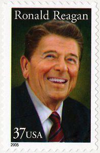 37c Ronald Reagan single