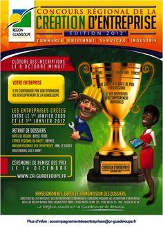 REGIONAL COMPETITION FOR NEW BUSINESS (971)    See the article here:  http://www.black-in.com/truc-de-femmes/vie-pratique/aymie/concours-regional-de-la-creation-dentreprise-971/