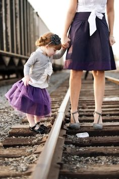 Who in their right mind takes their child to a train yard. Mother Daughter Pictures, Mom Daughter, Mother And Child, Photography Pics, Family Photography, My Family Photo, Family Photos, Golden Family, Mother Daughter Photography